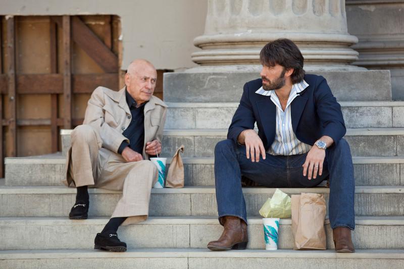 Tony Mendez e Lester Siegel em Argo