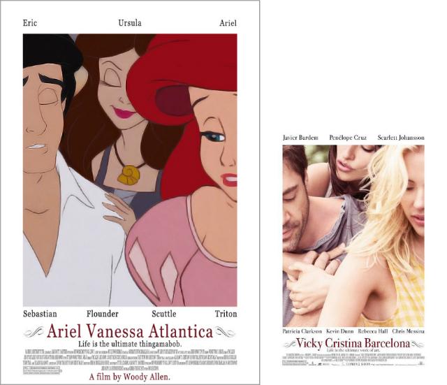 The Little Mermaid & Vicky Cristina Barcelona