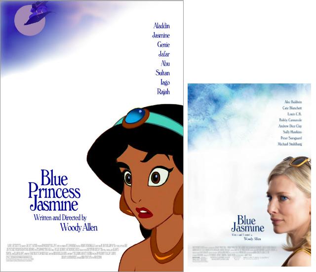 Aladdin & Blue Jasmine