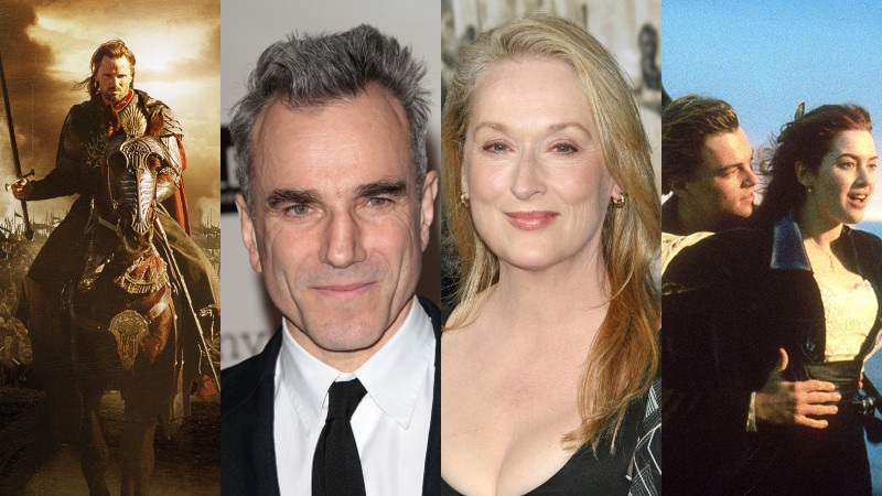 The Lord of the Rings: The Return of the King/Daniel Day-Lewis/Meryl Streep/Titanic