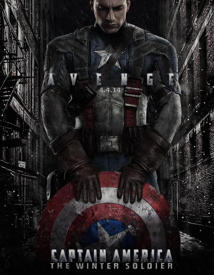 Capitão America - O Soldado do Inverno - Poster